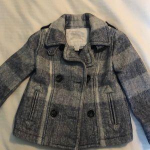 Childs Plaid Burberry jacket size 2